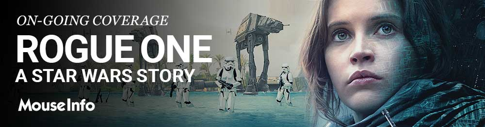 ROGUE ONE: A STAR WARS STORY teases new poster, behind-the-scenes featurette