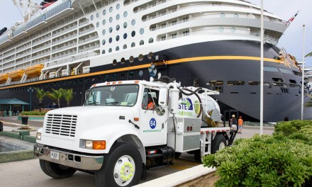 Looking to a green new year, Disney Cruise Line recycles cooking oil to power vehicles