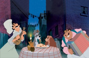 Lady and the Tramp Valentine's Day