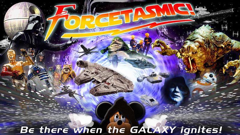 Disney scraps plans for STAR WARS FORCETASMIC #ThanksShanghai