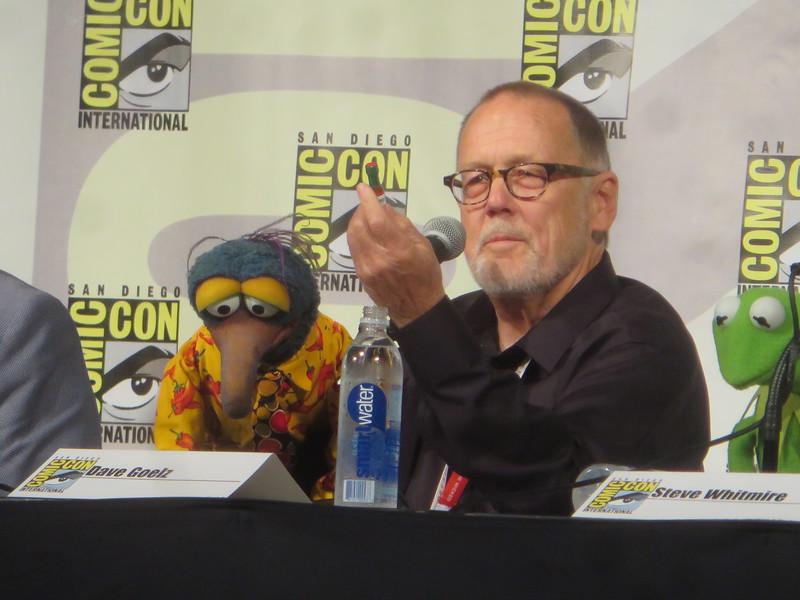 Gonzo Muppeteer Dave Goelz hosting program at Walt Disney Family Museum