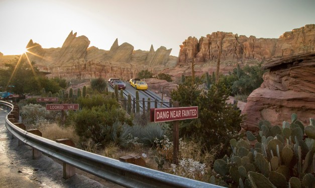 Resolve to go GREEN! Disney powering Cars Land with solar technology