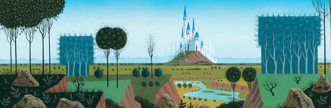 'Awaking Beauty: The Art of Eyvind Earle' brings beautiful stylized works to Walt Disney Family Museum