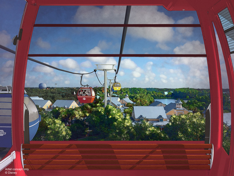 #D23Expo: Disney Skyliner gondolas will connect new DVC Disney Riviera Resort around Walt Disney World