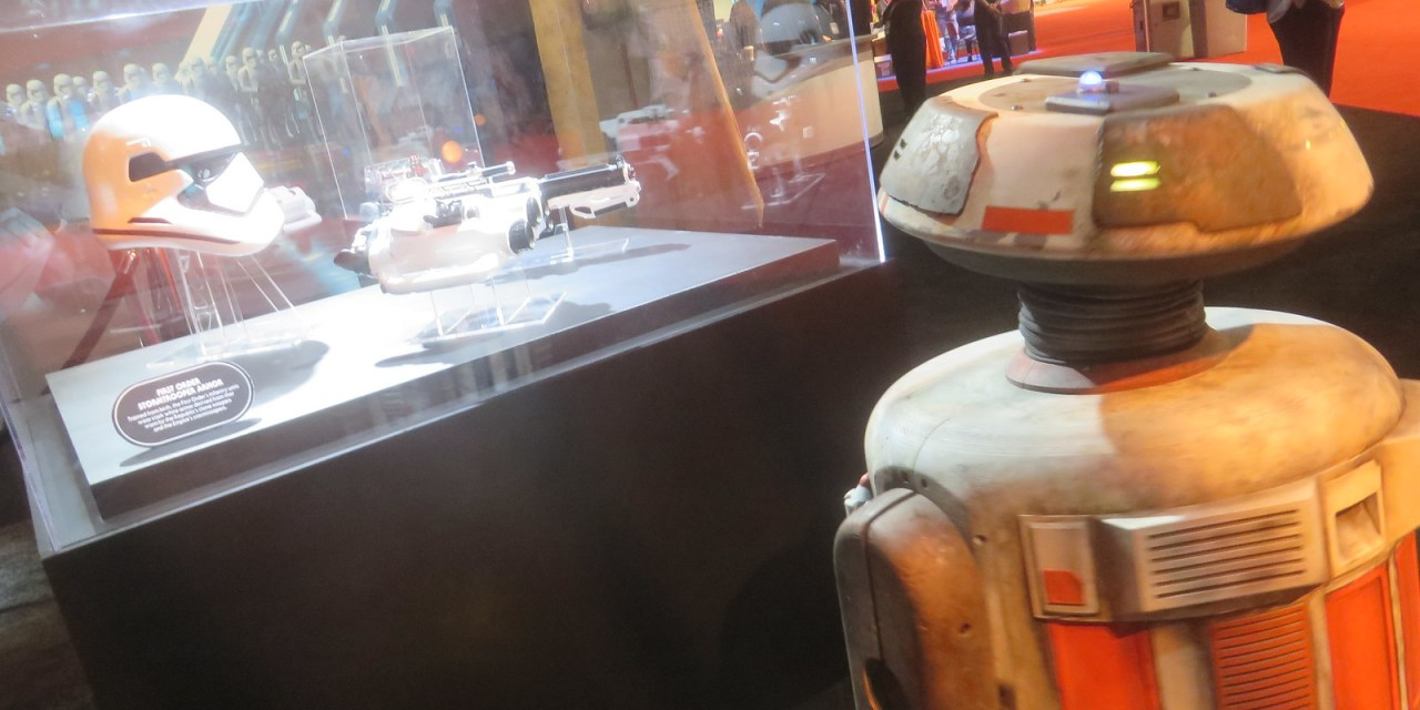 This is Jake… from Galaxy's Edge; he was at the #D23Expo