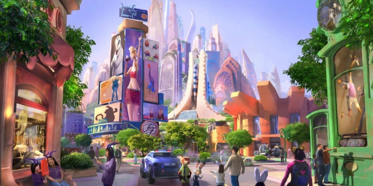 NEW: Zootopia themed-land coming to Shanghai Disneyland