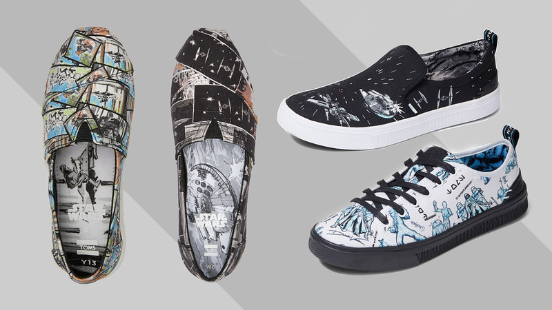 The Force is strong with the new #StarWarsxTOMS collaboration