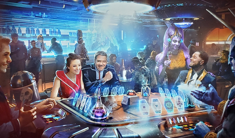 #D23Expo: 'Star Wars: Galactic Starcruiser' promises completely immersive luxury 2-day, 2-night voyages to a galaxy far, far away