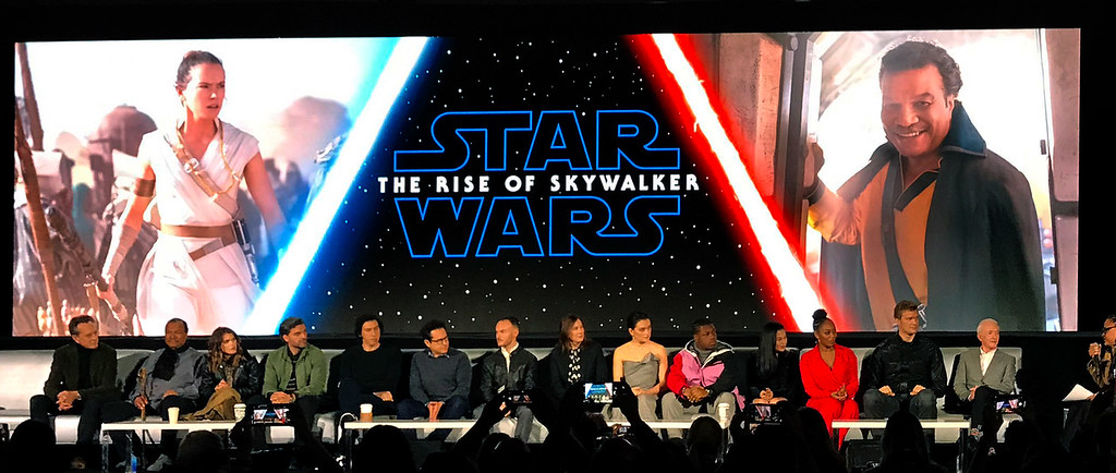 Five MUST-WATCH moments from the STAR WARS: RISE OF SKYWALKER press conference