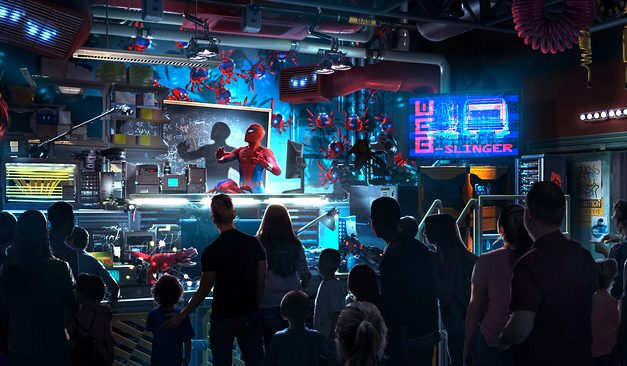 DETAILS: New 'WEB SLINGERS: A Spider-Man Adventure' attraction at AVENGERS CAMPUS Marvel-themed expansion