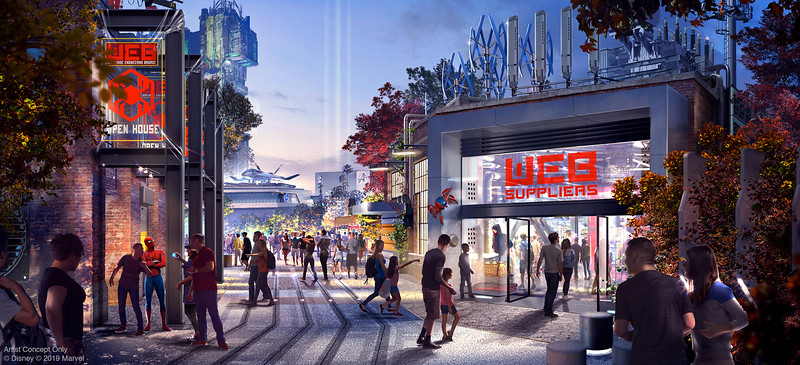 FULL SCOOP: New details, photos, concept art for AVENGERS CAMPUS Marvel-themed expansion