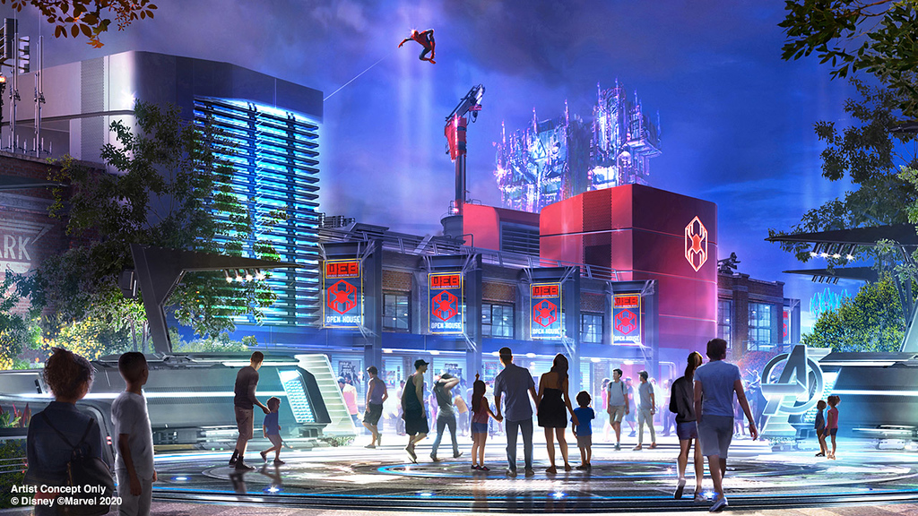CONFIRMED: July 18 opening for AVENGERS CAMPUS Marvel-themed land and Spider-Man attraction