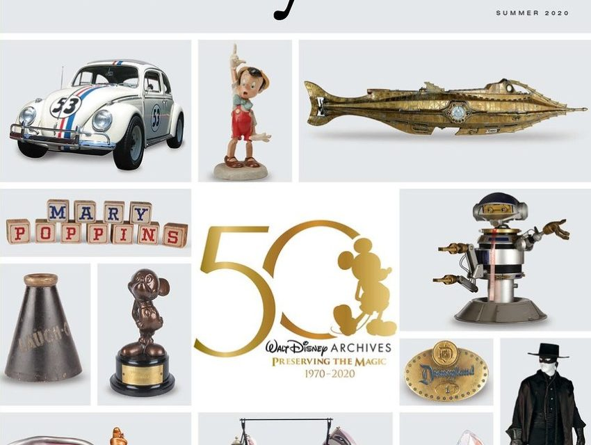 SUMMER 2020 issue of 'Disney twenty-three' magazine highlights ARCHIVES, MUPPETS, ASHMAN and more!