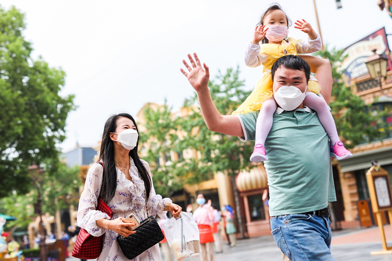 PHOTOS: Shanghai Disneyland is first Disney Park to reopen following COVID-19 coronavirus closures