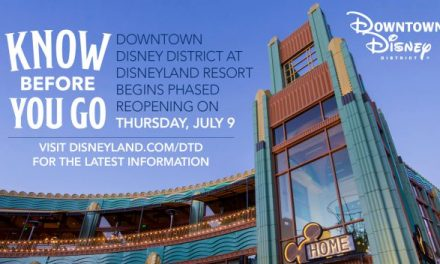 Downtown Disney is re-opening July 9 as planned but no details yet on parks, hotels