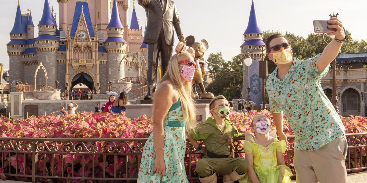 PHOTOS: Walt Disney World begins phased reopening of theme parks with new safety measures