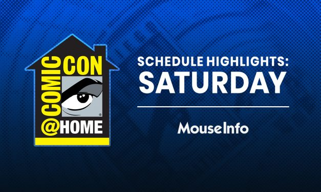 Saturday's MUST-SEE Comic-Con@Home 2020 panels — no ticket required! #SDCC #ComicConAtHome