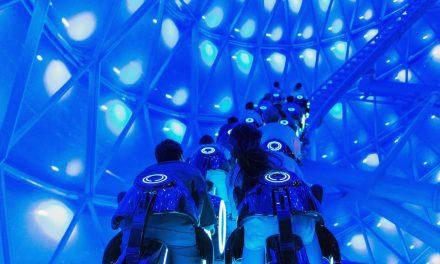 WATCH: Virtual ride through of TRON: LIGHTCYCLE POWER RUN at Shanghai Disney