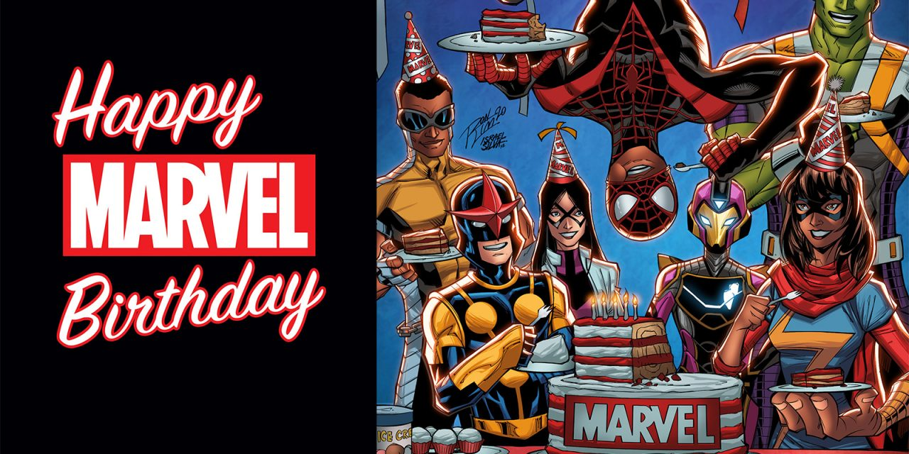 MARVEL celebrates 81st anniversary with new comics, collectibles, apparel, games, videos, and more