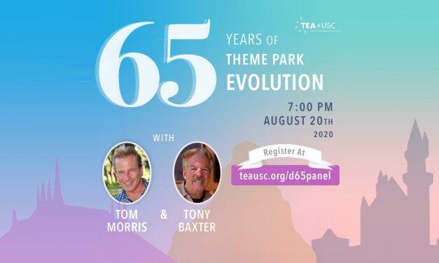 TEA@USC to host #Disneyland65 live stream panel with Tony Baxter, Tom Morris
