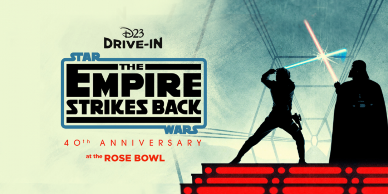 D23 EVENT: Socially distanced fun in a galaxy far, far away for'D23 Drive-In: STAR WARS' event at the Rose Bowl