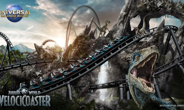 WATCH: 'Jurassic World VelociCoaster' confirmed for summer 2021 launch at Universal's Islands of Adventure