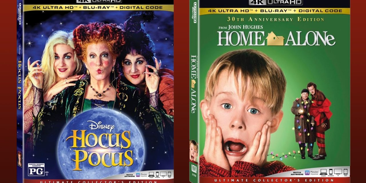 Limited edition SteelBook highlights physical home release for HOCUS POCUS and HOME ALONE