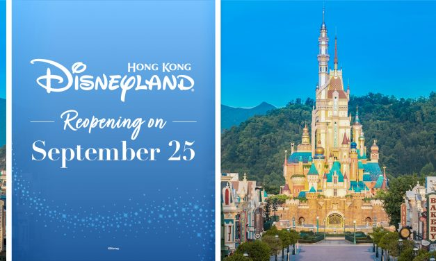 HONG KONG DISNEYLAND confirms Sept. 25 re-reopening date following coronavirus closures