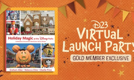 D23 EVENT: Gold Members invited to HOLIDAY MAGIC AT THE DISNEY PARKS Virtual Launch Party