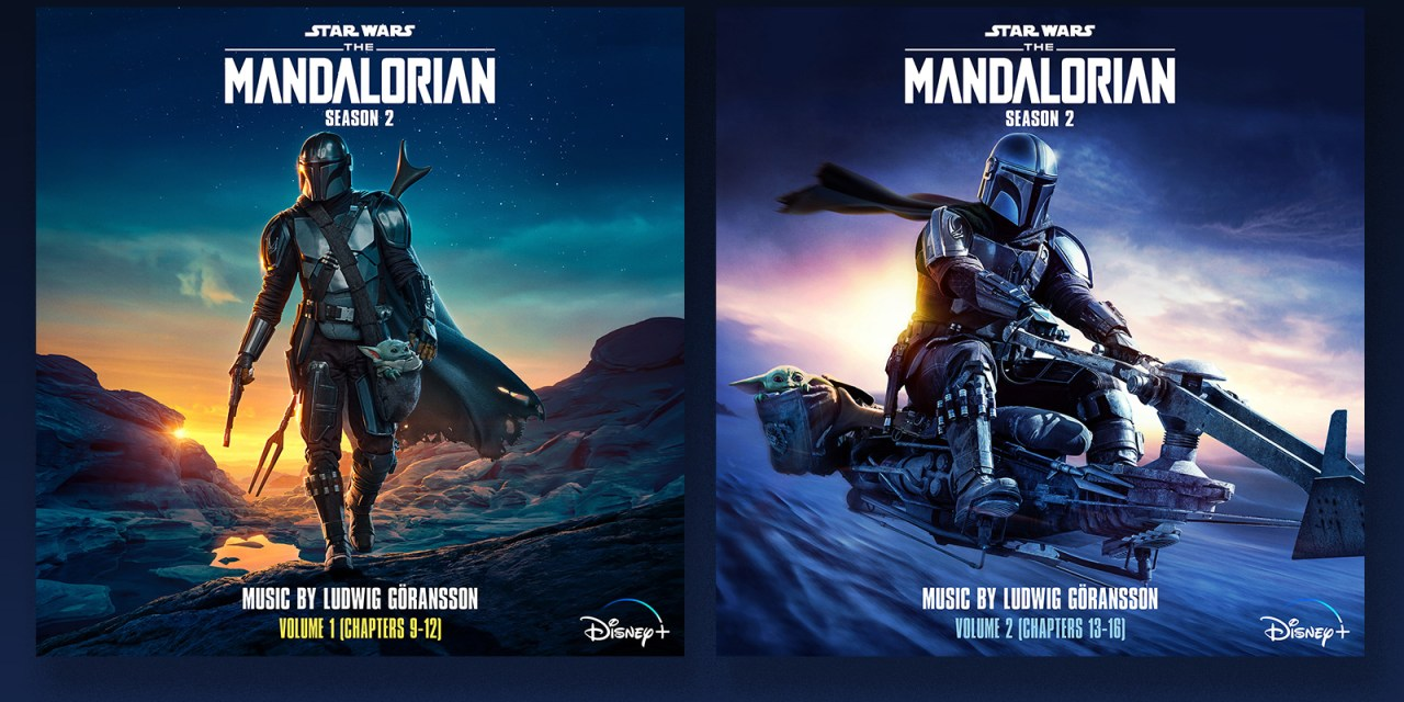THE MANDALORIAN season 2 digital soundtrack is coming in 2 volumes, the first available now! #DisneyPlus