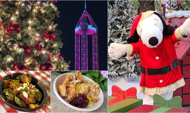 PICTORIAL: Festive KNOTT'S TASTE OF MERRY FARM outdoor event brings yuletide treats, sweets, and cheer