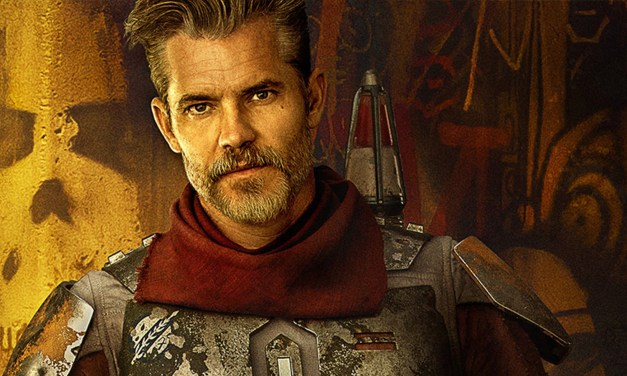 Is Timothy Olyphant's THE MANDALORIAN character poster a hint for larger role in second season? #DisneyPlus