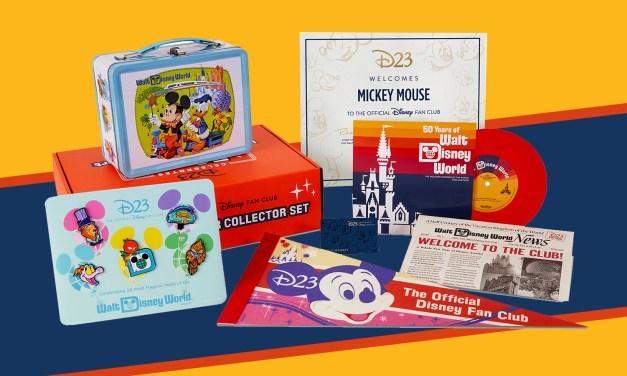 FIRST LOOK: 2021 Disney D23 Membership Gift celebrates 50 years of Walt Disney World