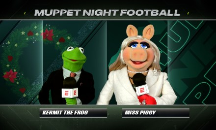 MUPPET NIGHT FOOTBALL tonight on ESPN with special opening by the Muppets
