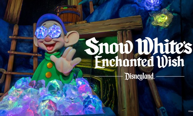 WATCH: A peek inside newly-updated SNOW WHITE'S ENCHANTED WISH attraction at Disneyland