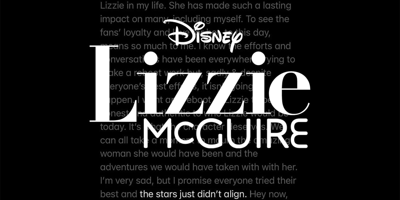'The stars just didn't align' for canceled LIZZIE MCGUIRE reboot for #DisneyPlus
