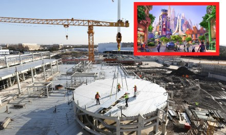 PICS: Latest peek at construction for upcoming Zootopia-themed land at Shanghai Disneyland