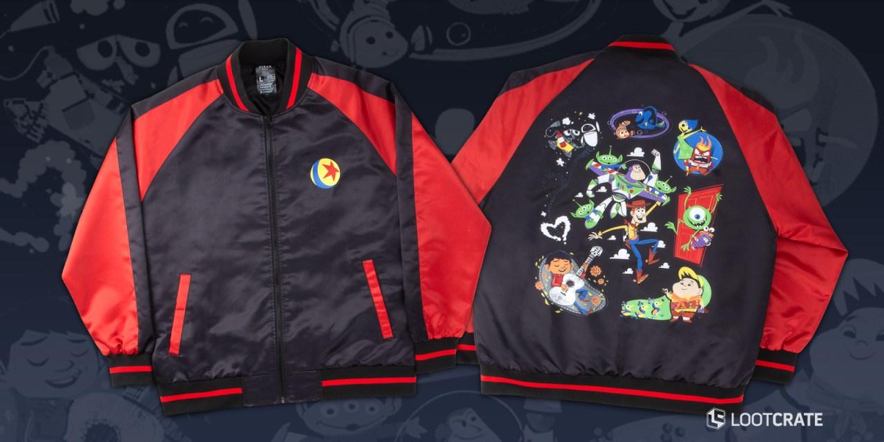 Pixar X Loot Crate limited edition series unveils exclusive licensed jacket design