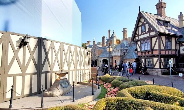 New KING ARTHUR CARROUSEL canopy design seemingly teased for Disneyland
