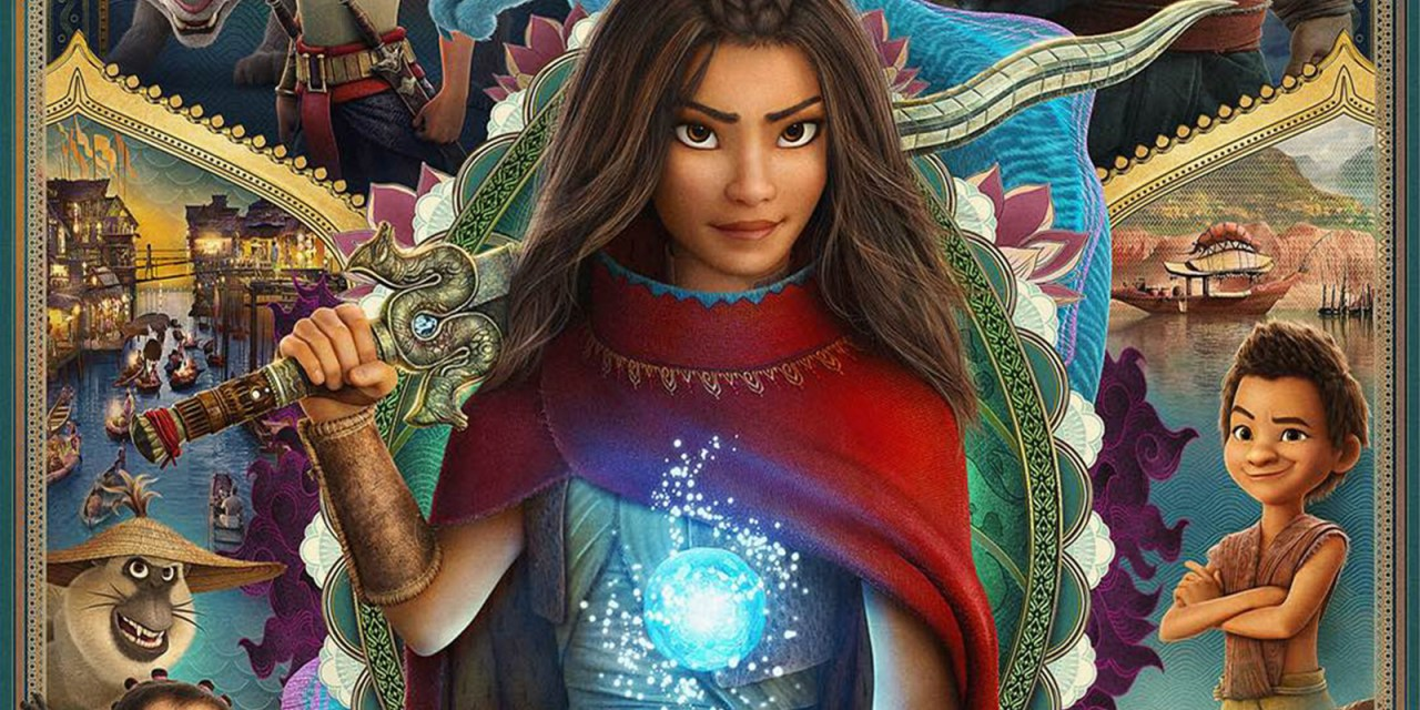 Theater? Disney+? Here's where to watch Disney's upcoming RAYA AND THE LAST DRAGON