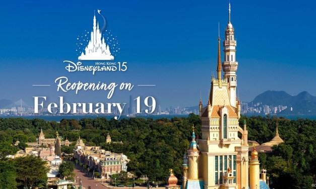 Third time's a charm! Hong Kong Disneyland reopening Feb. 19 following repeated COVID-19 closures