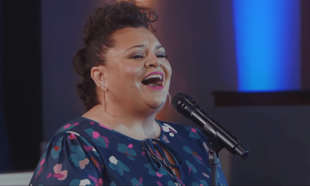 "WATCH: Keala Settle and Voices of Liberty perform for DVC 30th Anniversary ""We Go On"""