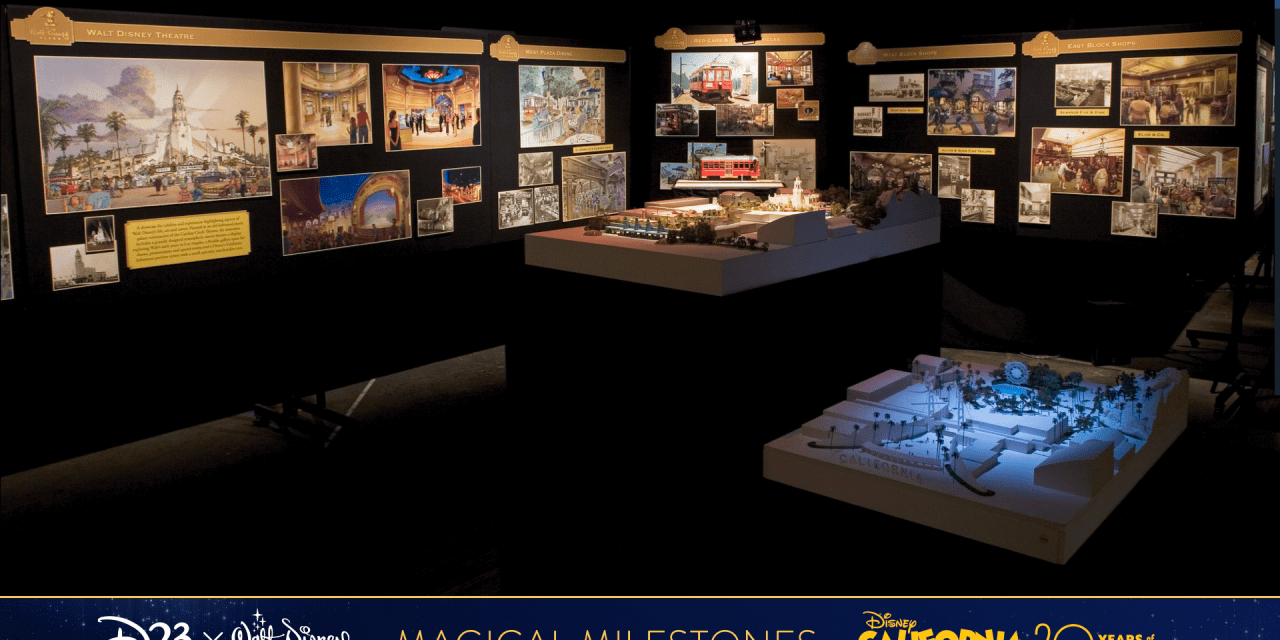 PEEK: 'Walt Disney Theatre' concept morphed into Carthay Circle Restaurant on Buena Vista Street