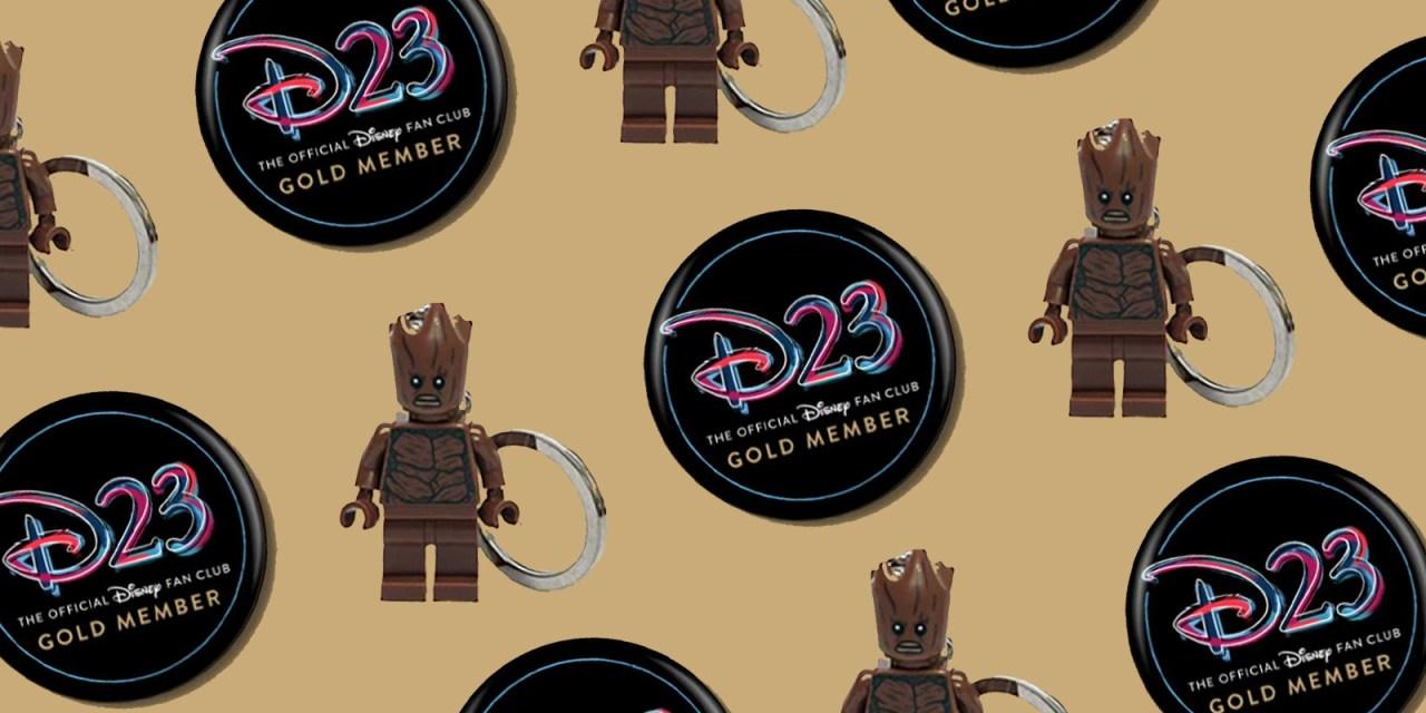 D23 PERK: Gold Members can snag member appreciation button, special offer from LEGO