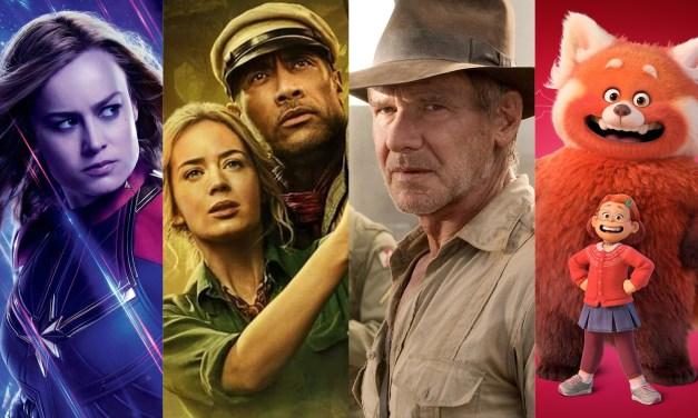 Looking ahead at Disney's 2021 – 2028 movie slate including Pixar, Marvel, Star Wars, and more