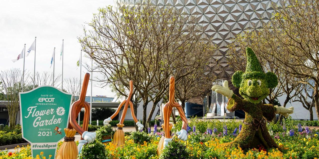 Taste of EPCOT International Flower & Garden Festival 2021 is now blooming!
