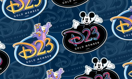 D23 PERK: Gold Members can pick between a complimentary Mickey or Figment magnet!