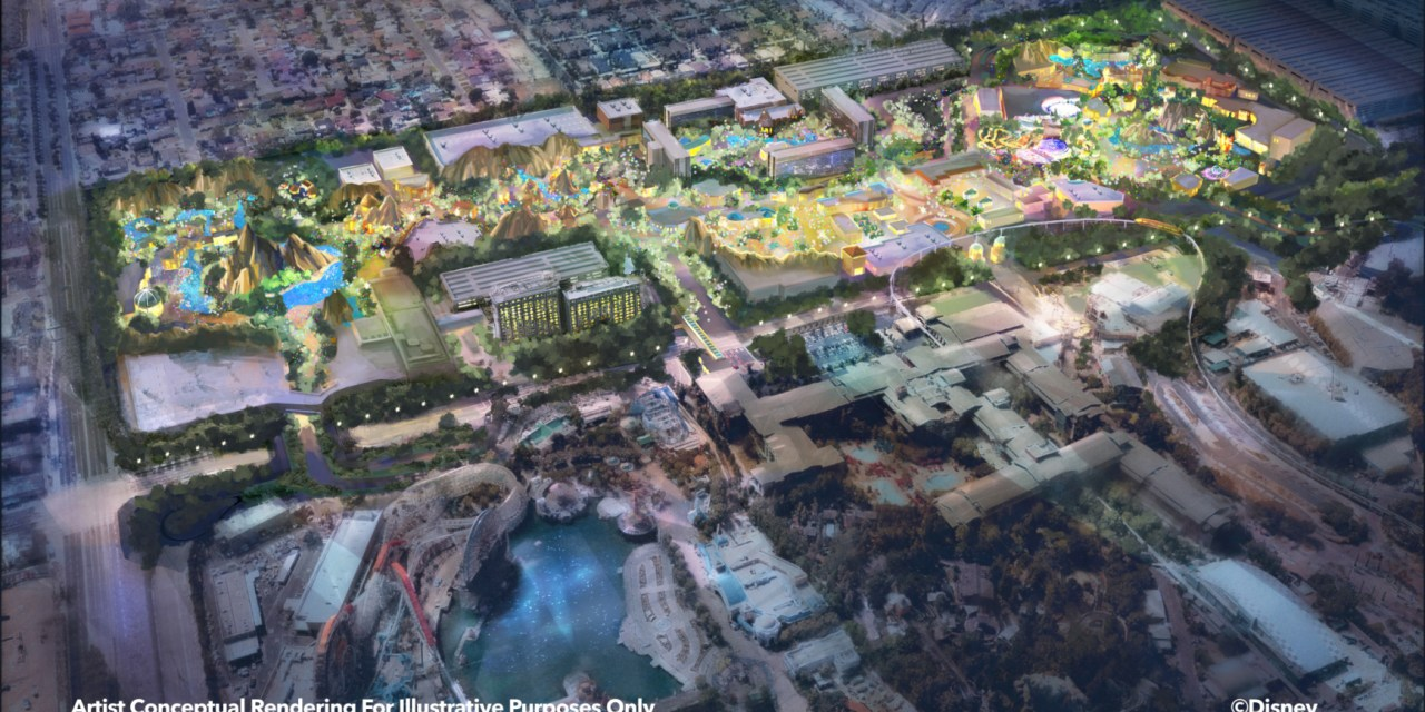 WOW: Disneyland Resort announces plans for massive expansion of parks into existing resort property
