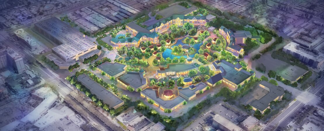 DisneylandForward: A second shopping district? New hotels? A closer look at the concept art!
