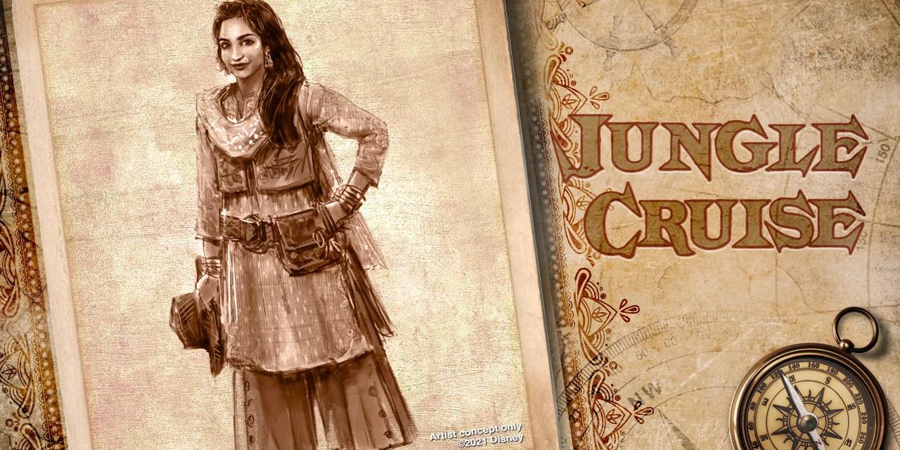JUNGLE CRUISE at Disneyland, Magic Kingdom introducing new original character, Alberta Falls